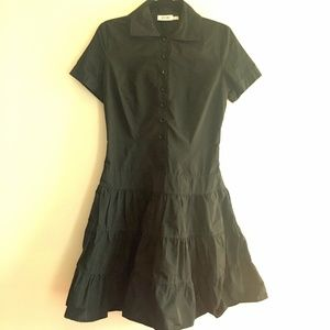 VTG Moschino Jeans Ruffle Dress